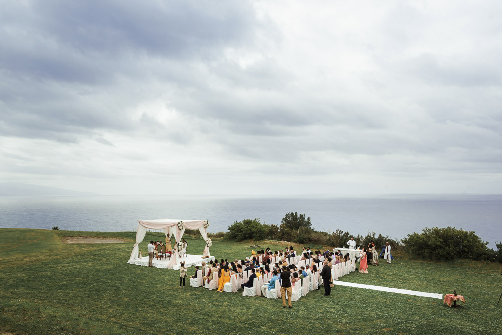 Indian wedding by the sea in Italy