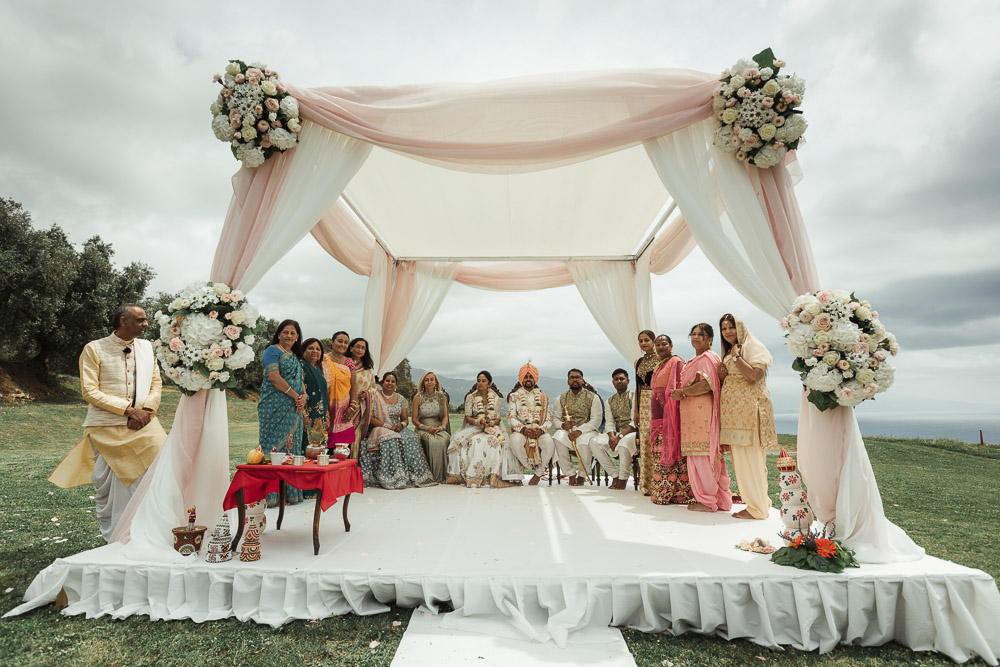 Indian wedding south of Italy
