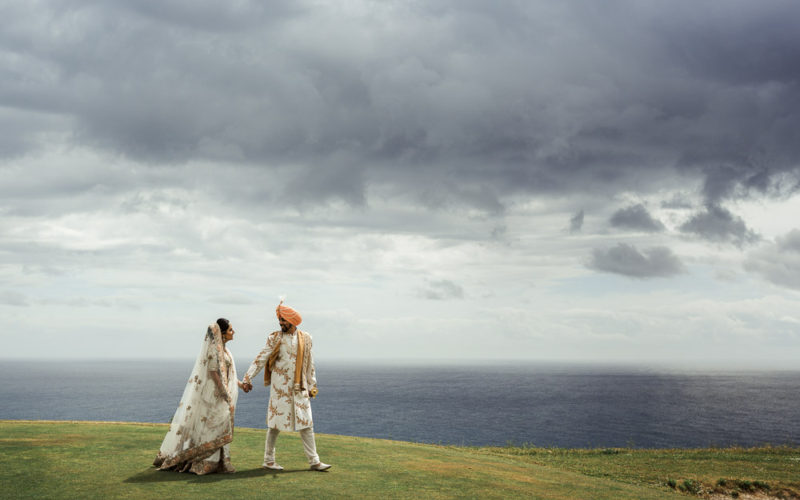 Joyful seaside Indian wedding in Italy